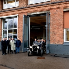 Today, the OV4 is back at the Volvo factory in Goteborg