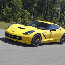 The Corvette has been officially rated as accelerating to 60mph in 3.8 seconds