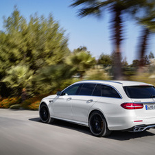 E63 AMG 4Matic+ Estate has a 571hp output and the E63 AMG S 4Matic+ Estate 612hp
