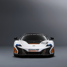 The Sprint version of the 650S will have a paint scheme with inverted colors compared with the 650S GT3