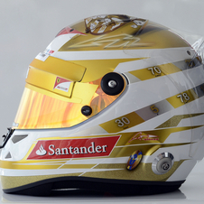Alonso's Monaco helmet mixes important numbers, reminders of home and a tribute to casinos