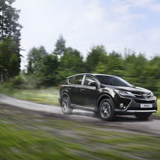 The turbodiesel RAV4 is now available with all-wheel drive
