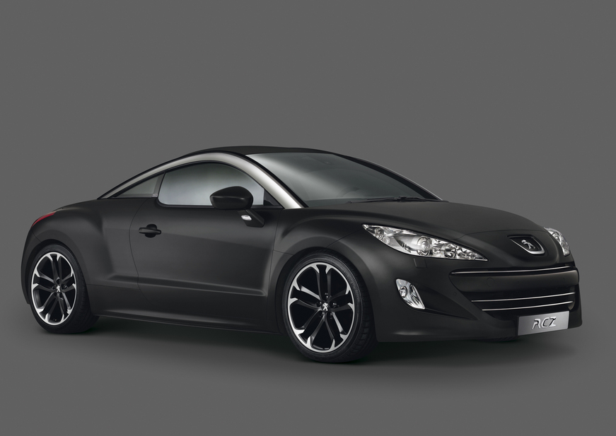 peugeot rcz 2 0 hdi onyx 1 photo. Black Bedroom Furniture Sets. Home Design Ideas