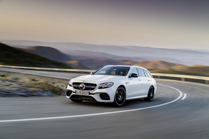 The new Mercedes-AMG E63 Estate will make its official world debut at the Geneva Motor Show
