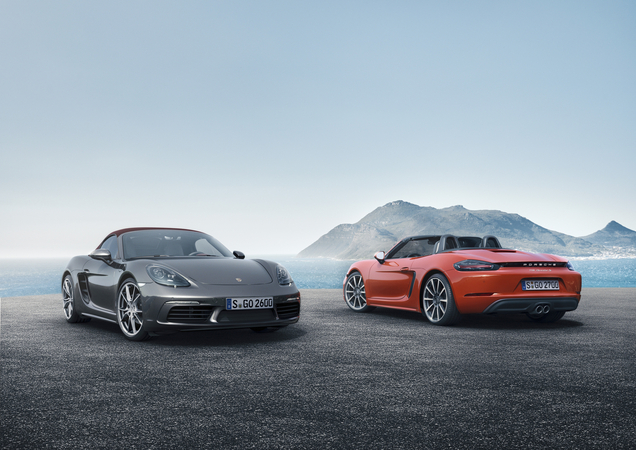 Thanks to the new four-cylinder engine, Porsche managed to secure a reduction of 14% in consumption in the 718 Boxster and Boxster S