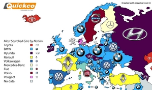 In Europe the dominant brand was BMW