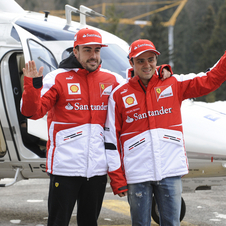 Alonso and Massa are both looking forward to next season