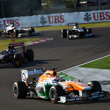 Force India thinks that larger teams are trying make racing too expensive