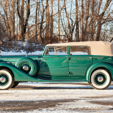 Packard Eight Convertible Sedan