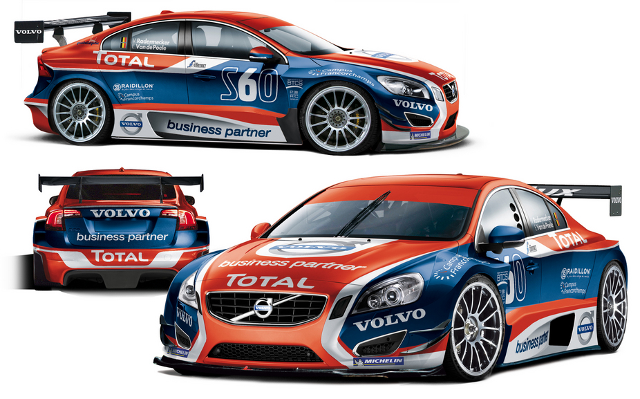 Volvo S60 to start in the Belgian Touring Car Series