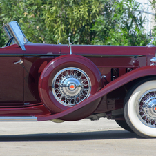 Packard Individual Custom Eight Convertible Victoria by Dietrich