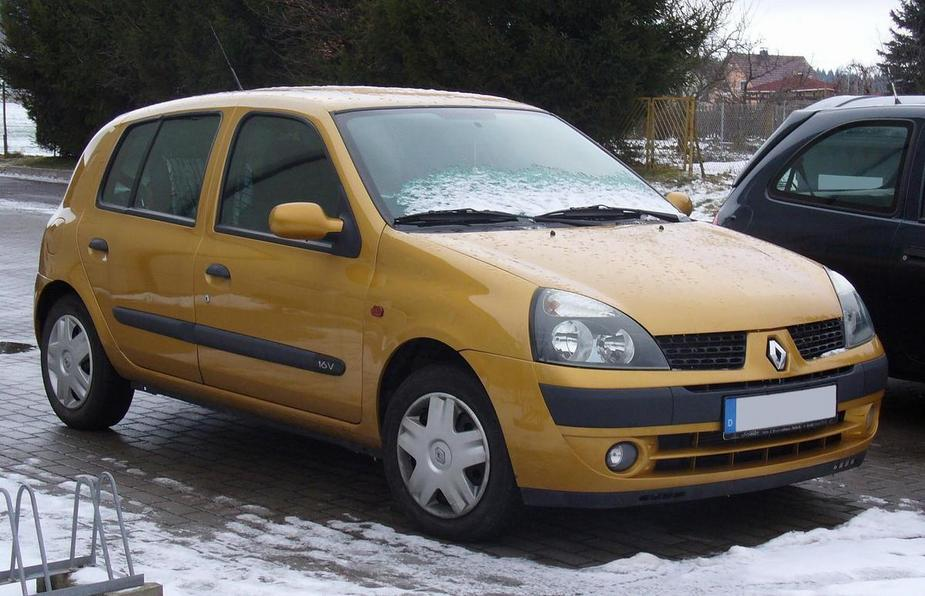Renault Clio II 1.6 16v Automatic