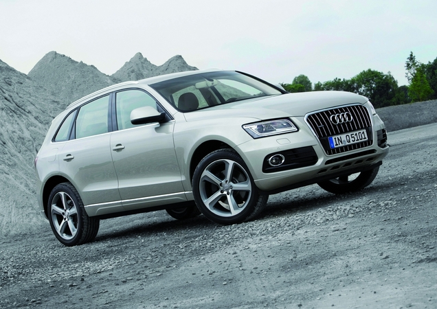The Q5 had a double-digit sales increase in the United States
