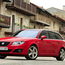 Seat Exeo ST 2.0 TDI 120cv DPF CR Reference