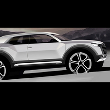 The Q1 compact crossover is coming in 2016