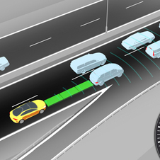 Adaptive cruise control was found to have a significant effect on safety
