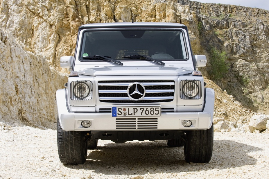 Mercedes Benz G55 Amg 4wd 1 Photo And 57 Specs