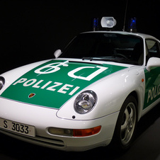 Porsche 911 Carrera Coupe Police Car