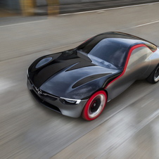 The concept is a direct heir to the Opel GT and the recently unveiled Monza Concept