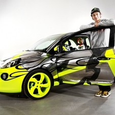 Rossi created a custom Adam to sell for charity