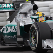 Lewis Hamilton brought Mercedes yet another pole