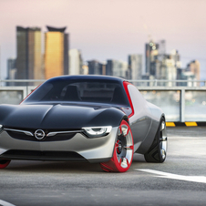 The GT Concept is intended to represent the pioneering spirit of Opel with a dynamic sports car