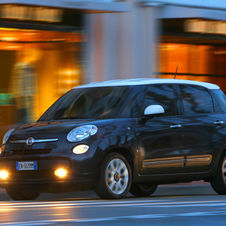 Fiat's automatic braking system is available on the 500L and Panda
