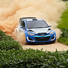 The i20 WRC will start racing next year