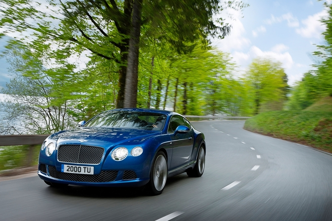 Lancement international de la nouvelle Bentley Continental GT Speed lors du festival de vitesse de Goodwood 2012