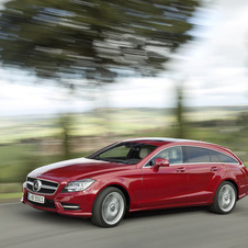 The CLS AMG Shooting Brake will be out later this fall.