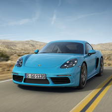The maximum speed of the 718 Cayman is 275km/h while the 718 Cayman S can reach 285km/h