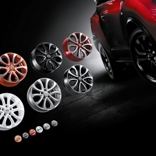 The options include several wheel colors