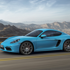 The 718 Cayman S completes the same exercise in 4.2 seconds