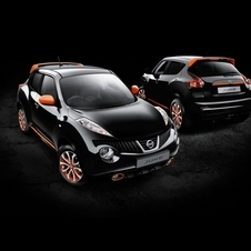 The cars allow buyers to make the Juke their own