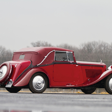 Bentley 3½-Litre Drophead Coupe by Park Ward