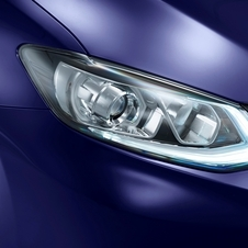 New LED boomerang-shaped headlights are one of the new features of the Pulsar