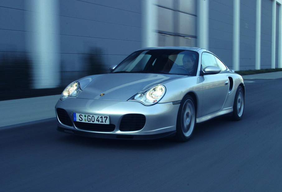 Porsche 911 Turbo S Tiptronic