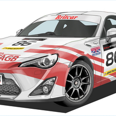 The GT86 also won its class in the Nürburgring 24 Hours earlier this year.
