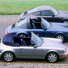 Porsche has a history of developing targa models going back to the 70s
