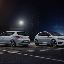 The Leon Cupra is available in two power levels in three-door or five-door versions