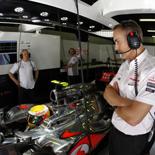 McLaren Team Principal Martin Whitmarsh is done trying to strategize for the season