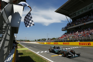 Nico Rosberg dominated the race in Barcelona from start to finish