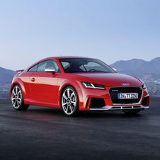 The new TT RS are powered by the new Audi turbocharged 2.5-litre five-cylinder petrol engine