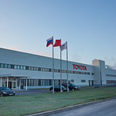 Toyota's Russian factory opened in 2007
