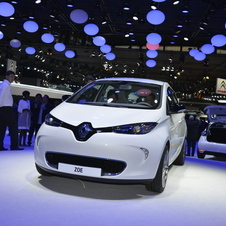 Besides the new Clio, Renault also showed the electric city car Zoe