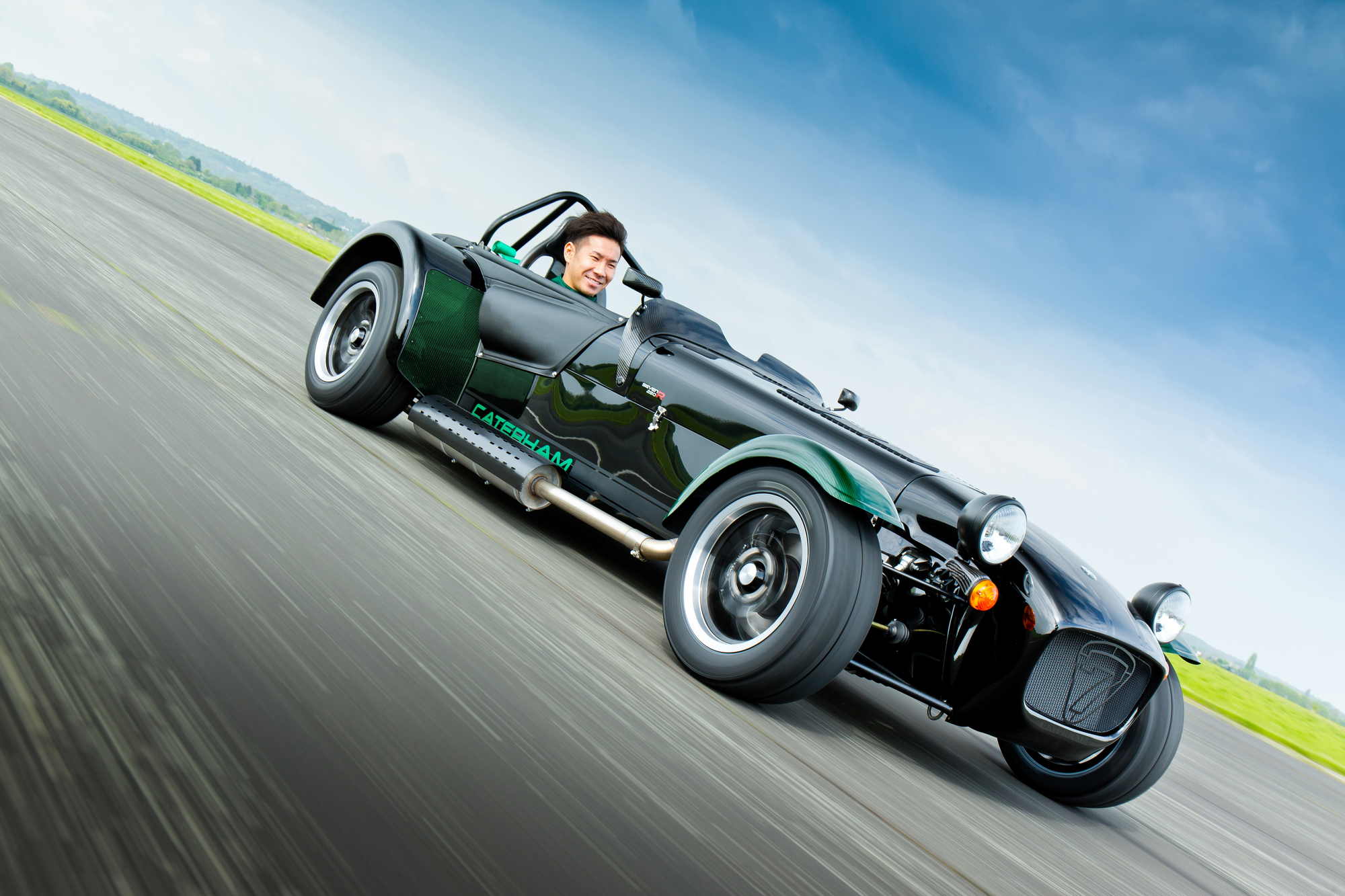 The Seven by Kamui Kobayashi was designed with the help of the Japanese F1 driver of team Caterham