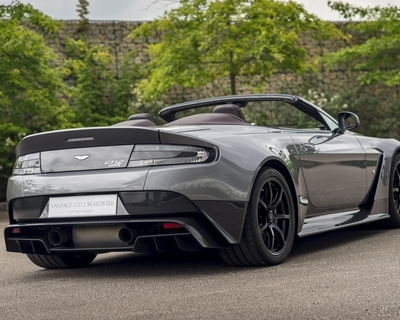 Aston Martin creates exclusive GT12 Roadster