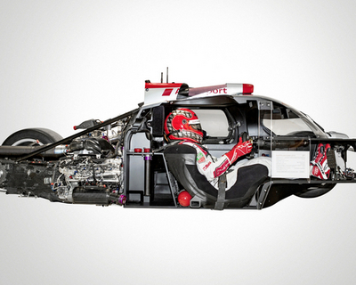 Audi Details Leaps in Lightweight Racing Tech