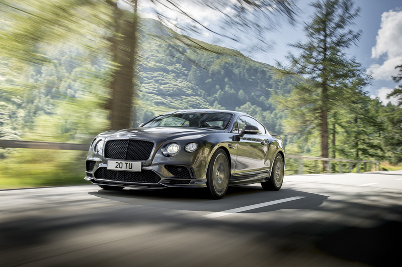 Bentley wraps up Continental with Supersports