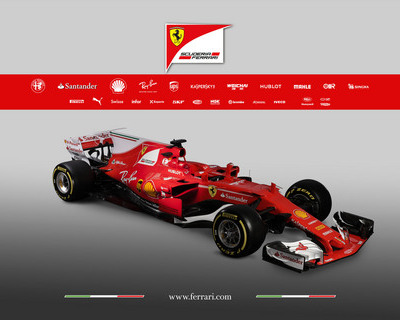 Ferrari SF70H revealed in Fiorano